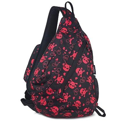 515283b6cfe5 Amazon.com   CARQI Sling Bag Shoulder Backpack Crossbody Chest Purse ...