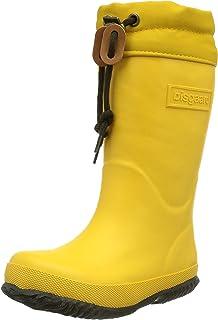 Bisgaard Unisex-Kinder Rubber Boot Star Gummistiefel, Gelb (80 Yellow), 37 EU