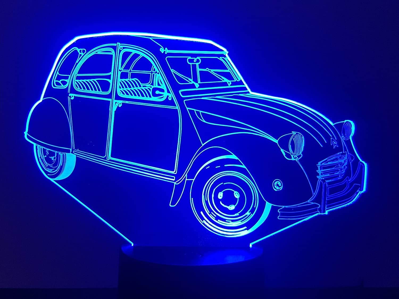 Lampe 3D Motif: Citroën 2CV