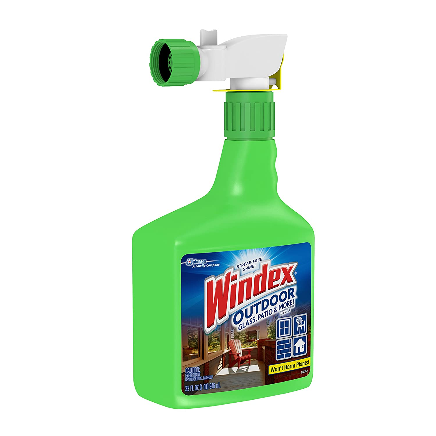 Windex Outdoor Window Cleaner Msds