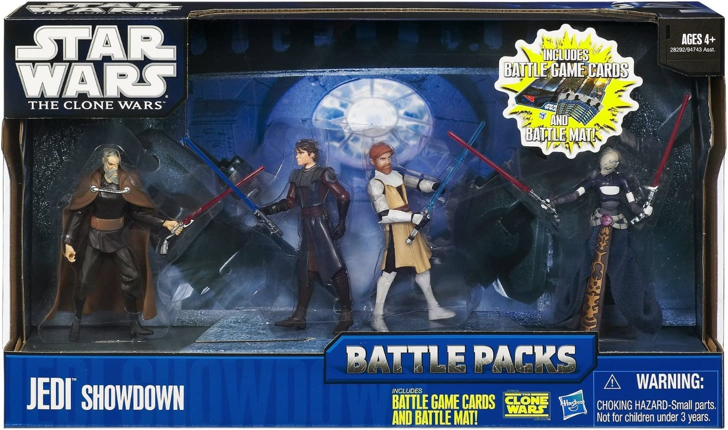 Hasbro Star Wars Battle Pack Jedi Showdown - Surtido de figuras de ...