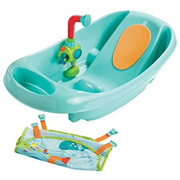 Baby Summer Infant My Baby Bath Seat With Easy Set-up Removal And Storage Safety Sit Baby Bathing/grooming