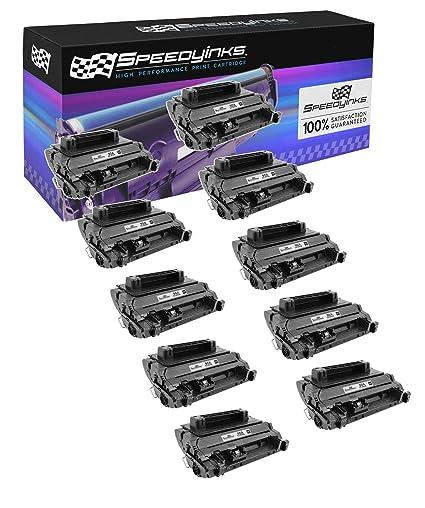 6PK CE390A 90A Black Toner Cartridge Compatible For HP LaserJet M4555f M601dn