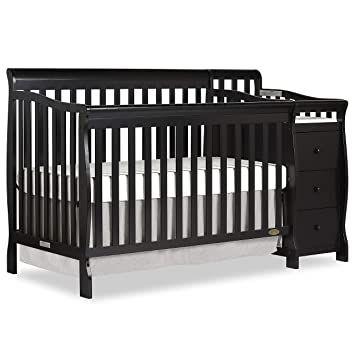 Amazon Com Dream On Me 5 In 1 Brody Convertible Crib With Changer