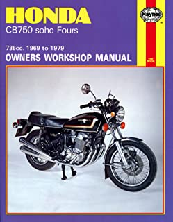 amazon com honda cb750 and cb900 dohc fours haynes repair manual rh amazon com Honda CB900F 1982 Honda CB 900 Custom