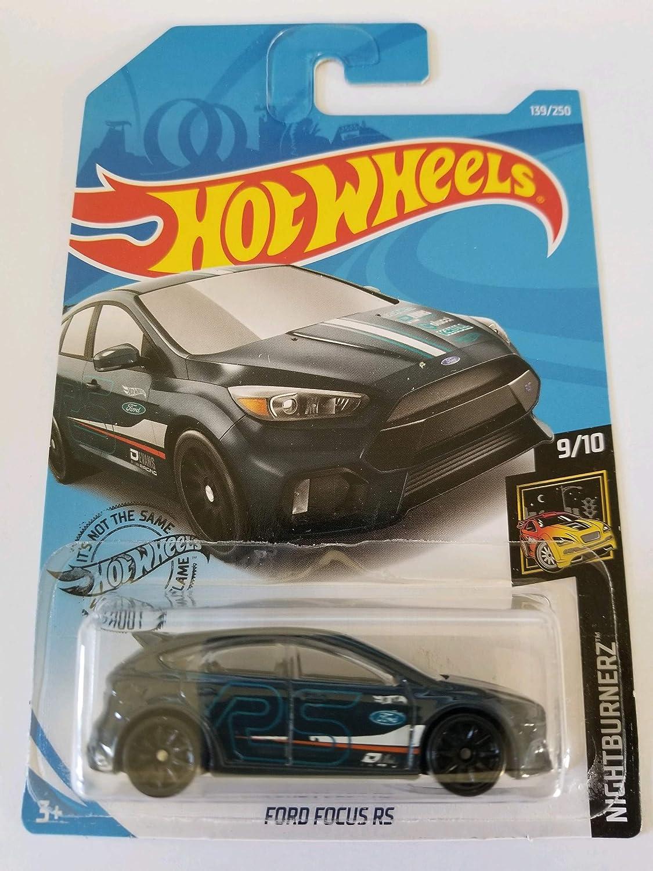 2019 Hot Wheels NIGHTBURNERZ 9//10 Ford Focus RS 139//250
