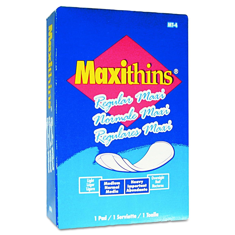 HOSPECO MT4FS Maxithins Vended Sanitary Napkins (Case of 100): Feminine Hygiene Products: Amazon.com: Industrial & Scientific