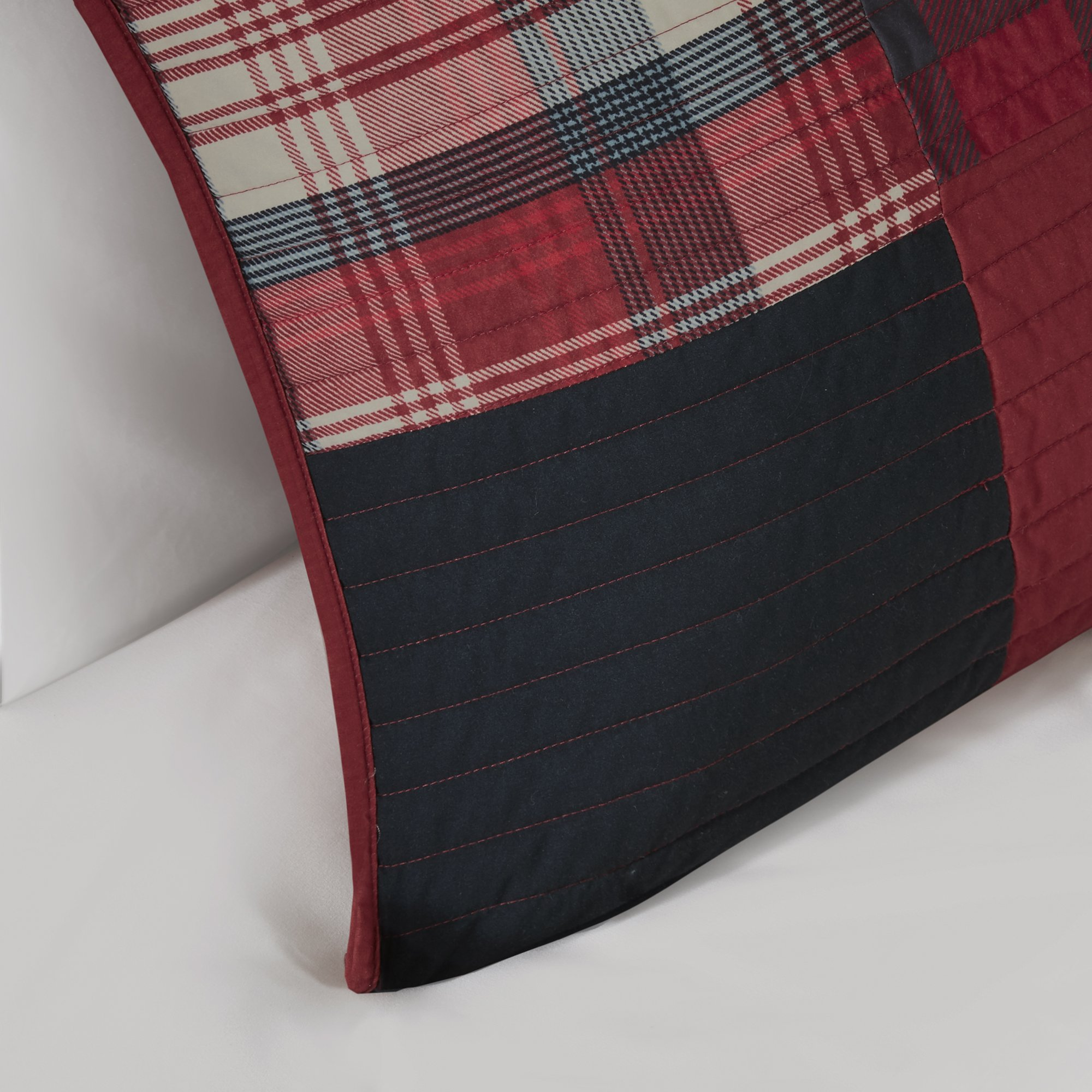 Woolrich WR14-1731 Sunset Coverlet Mini Set King/Cal King Red,King/Cal King by Woolrich