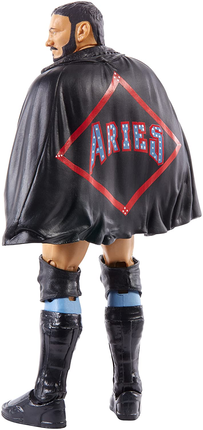 WWE NXT Takeover Elite Action Figure Austin Aries with Entrance Gear Mattel Toys FGT61