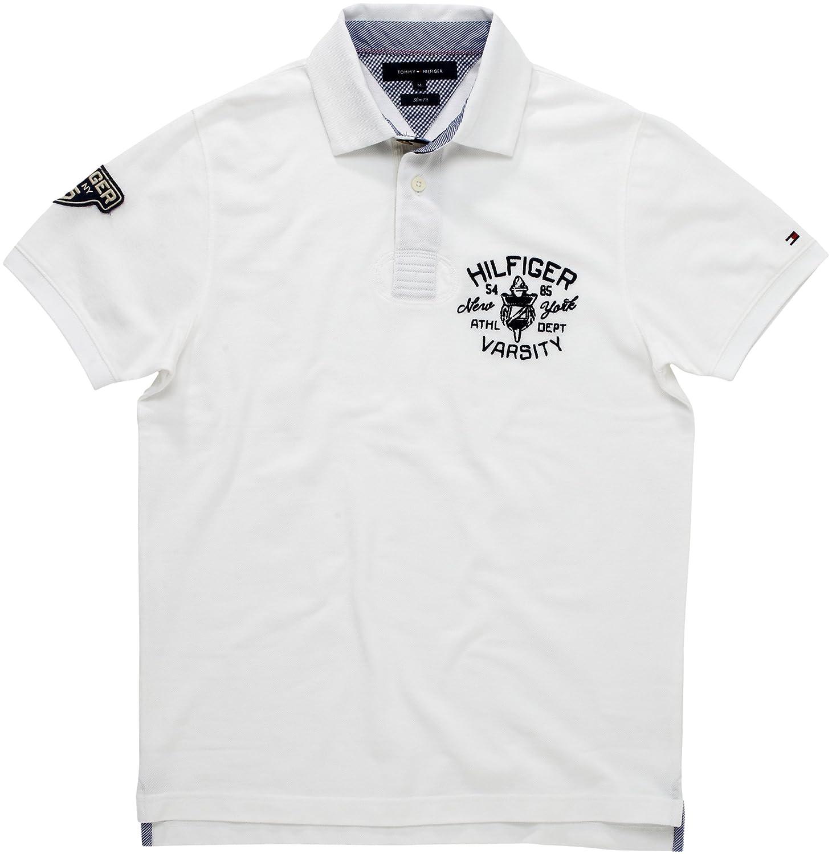 Tommy Hilfiger Phoenix Polo SF, Blanco (Classic White) 100, 56 ...