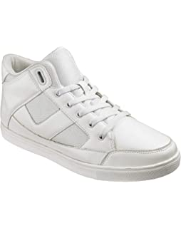 JACAMO HI TOPS UK 9 WHITE