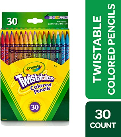 Crayola Twistables Colored Pencils Pack of 30 Pack of 2