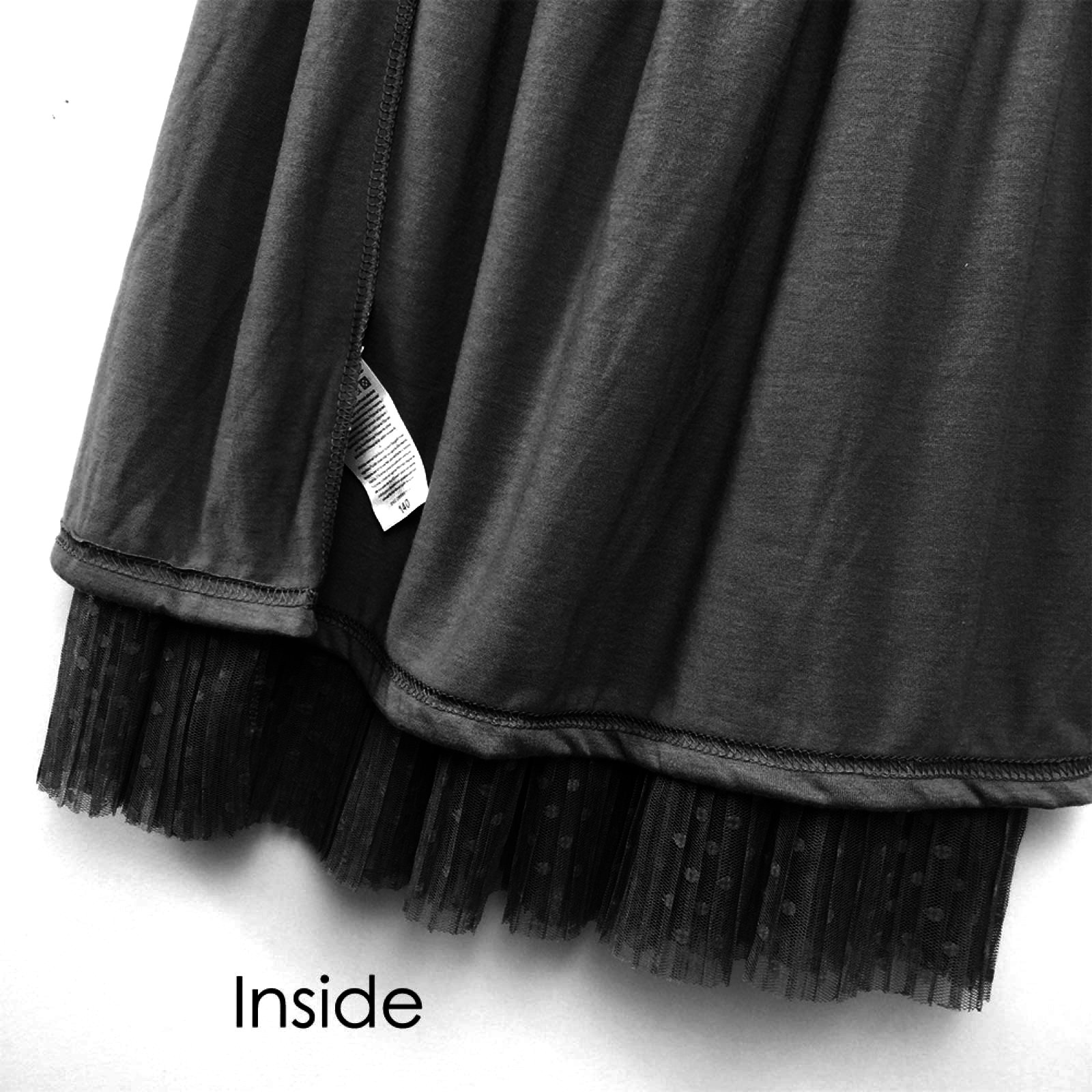 BRIGHT GG Womens Elastic Waist Skirt Knee Length Pleated Flared Stretchy Swing Skater Skirt for Teen Girls