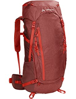 VAUDE Asymmetric 42+8 Backpack - Lightweight Touring Backpack for Multi-Day Hikes,