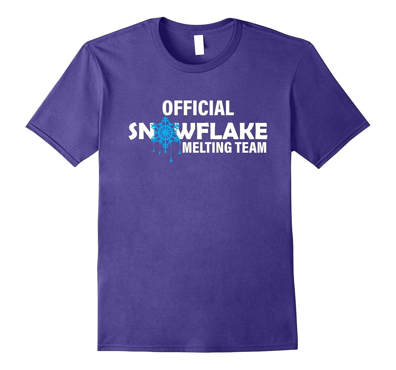 Official Snowflake Melting Response Team Funny Anti Liberal-FL
