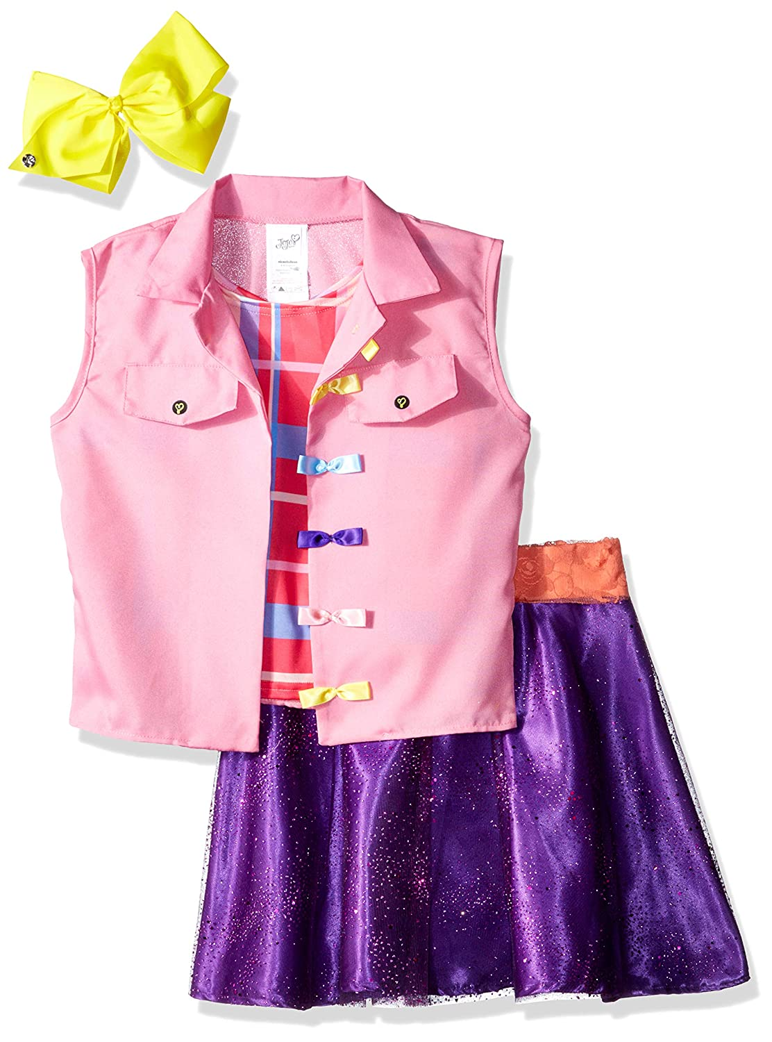 Rubie's Costume Co Jojo Siwa Boomerang Music Video Outfit Costume, Multicolor, Small Rubie' s Costume Co 640736-S