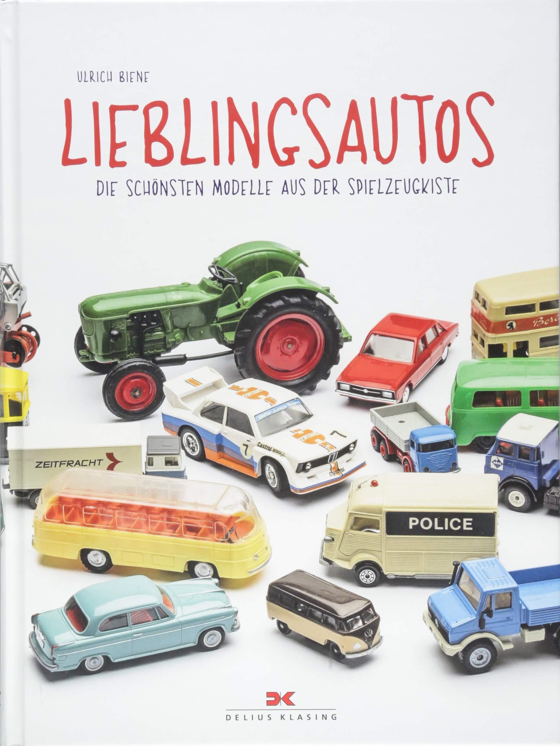 Lieblingsautos die schönsten Modelle aus der Spielzeug-Kiste Buch//Fotos Biene