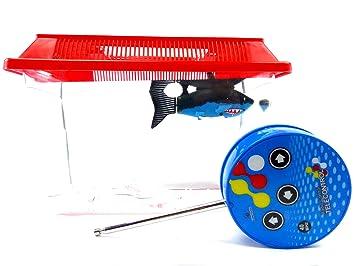 Niños de juguetes robot de tiburón de Acuario de pescado (teledirigido bañera Juguetes Robot de Fish: Amazon.es: Salud y cuidado personal