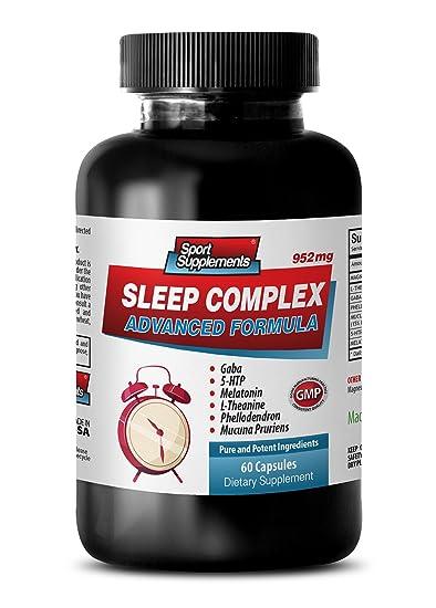 mucuna pruriens - SLEEP COMPLEX ADVANCED FORMULA - 952MG - melatonin and l- theanine -