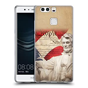 Official Jason Bullard Lincoln America Soft Gel Case for Huawei P9 Plus
