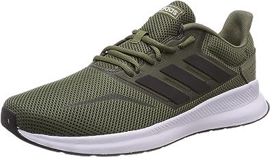 adidas Runfalcon, Zapatillas de Running para Hombre, Verde (Raw Khaki/ Core Black/ Ftwr White), 40 2/3 EU: Amazon.es: Zapatos y complementos
