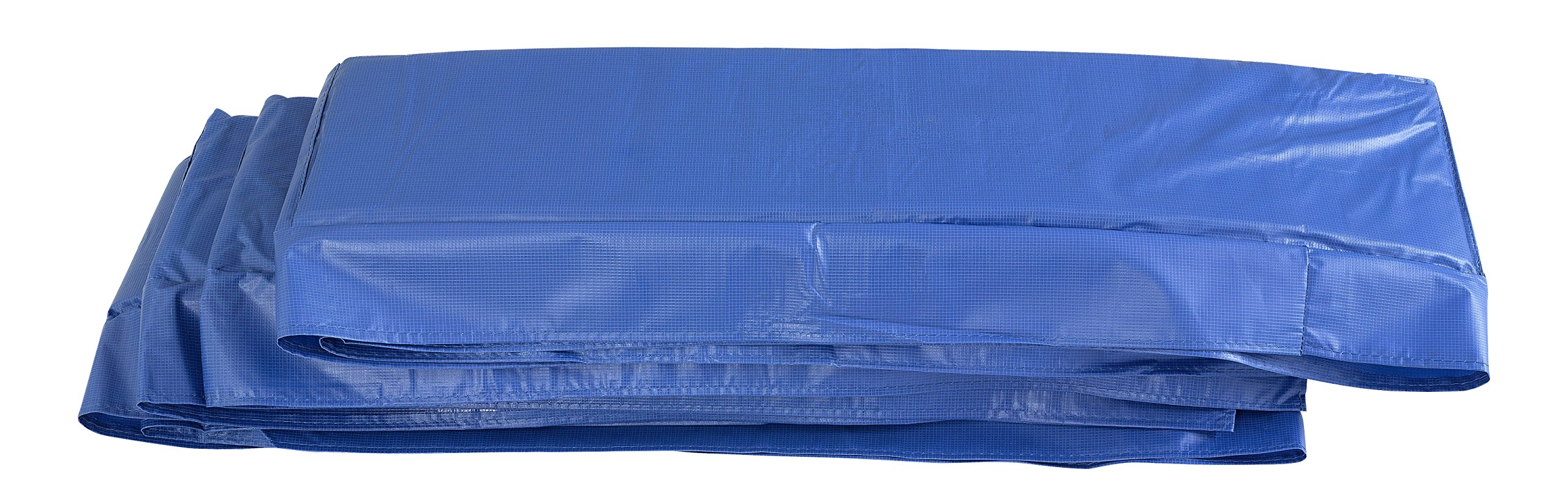 Upper Bounce Super Trampoline Replacement Safety Pad (Spring Cover) for 8' x 14' Rectangular Frames, Blue