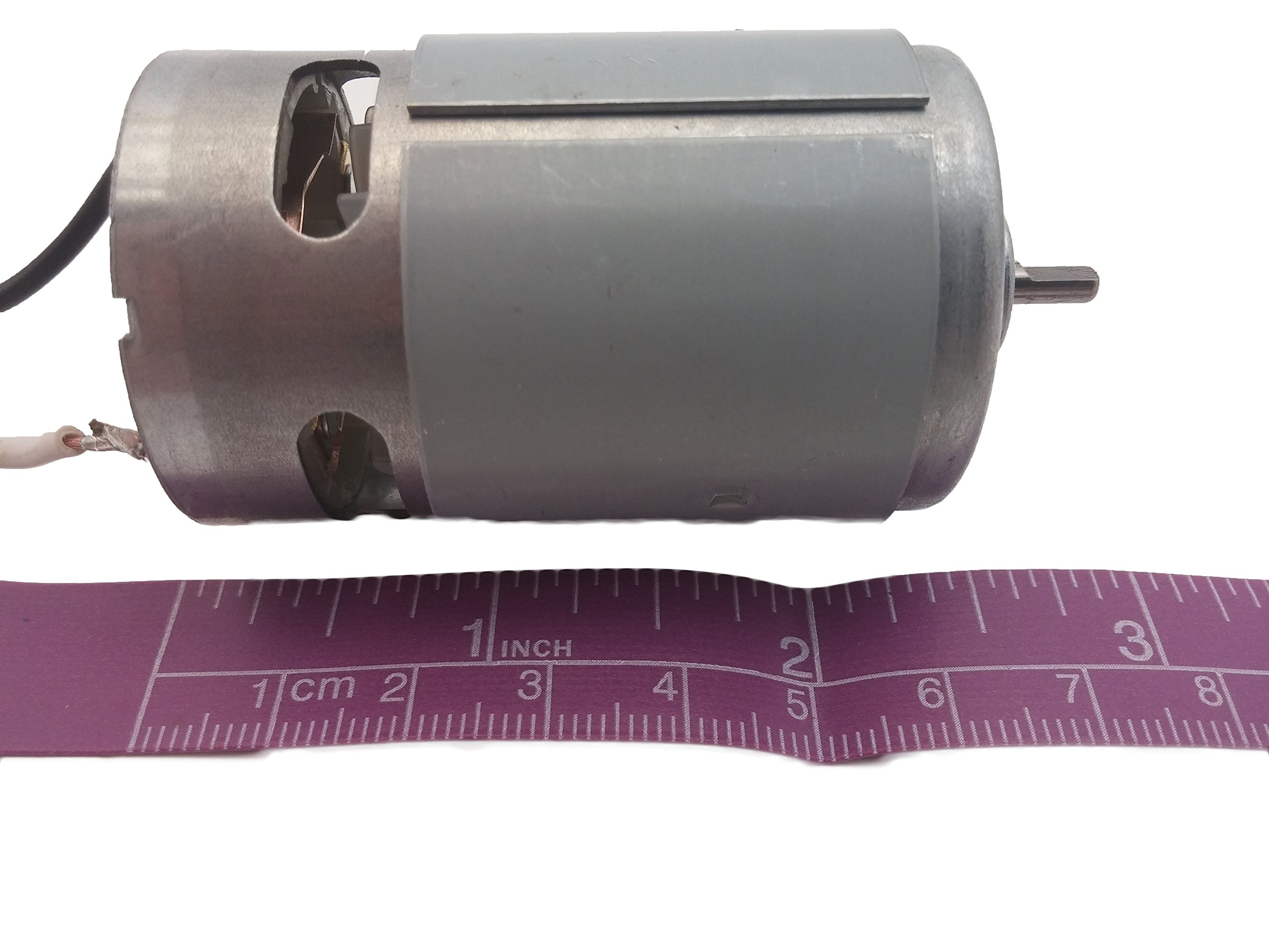 RS-550s 18v (6v - 24v) DC Motor - High Power & Torque for DIY Electric/Electronic Projects, Drills, Robots, RC Vehicals, Remote Controlled Cars/Robot, Saw Repair/Replacement Engine & More