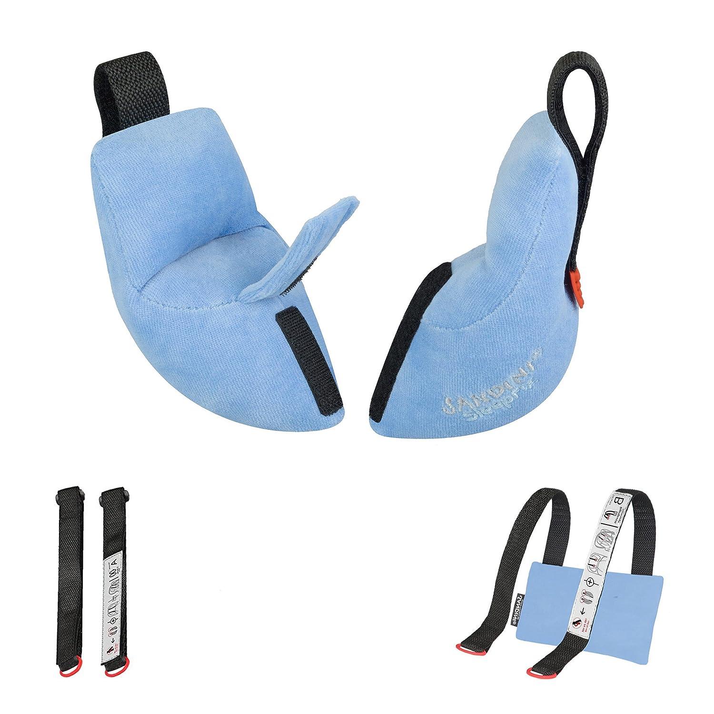 Accesorio de asiento para autom/óvil//bicicleta//viaje SANDINI SleepFix/® Baby Almohada para beb/é//Cuello con funci/ón de soporte Reposacabezas//Evita que la cabeza se salga de la pata al dormir