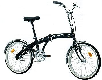 Polironeshop Cinzia - Bicicleta plegable, hecha en Italia, transportable, plegable para transporte en