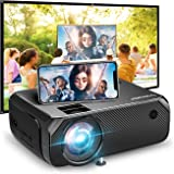 Wi-Fi Mini Projector, Bomaker Portable Projector for Outdoor Movies, 6000 Lux, Full HD 1080P Supported Outdoor Movie…