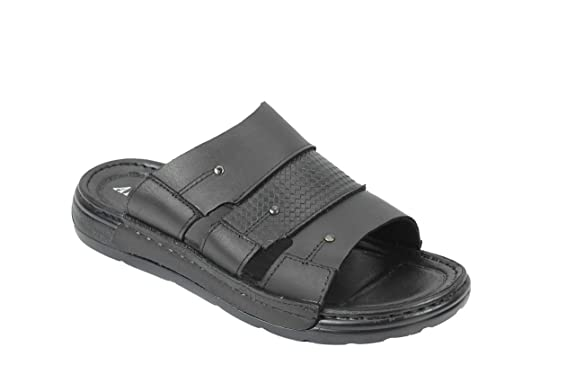 Mens Brown Open Toe Mules Slip On Sandals Flip Flops Sizes UK 7 - 11 Bruce