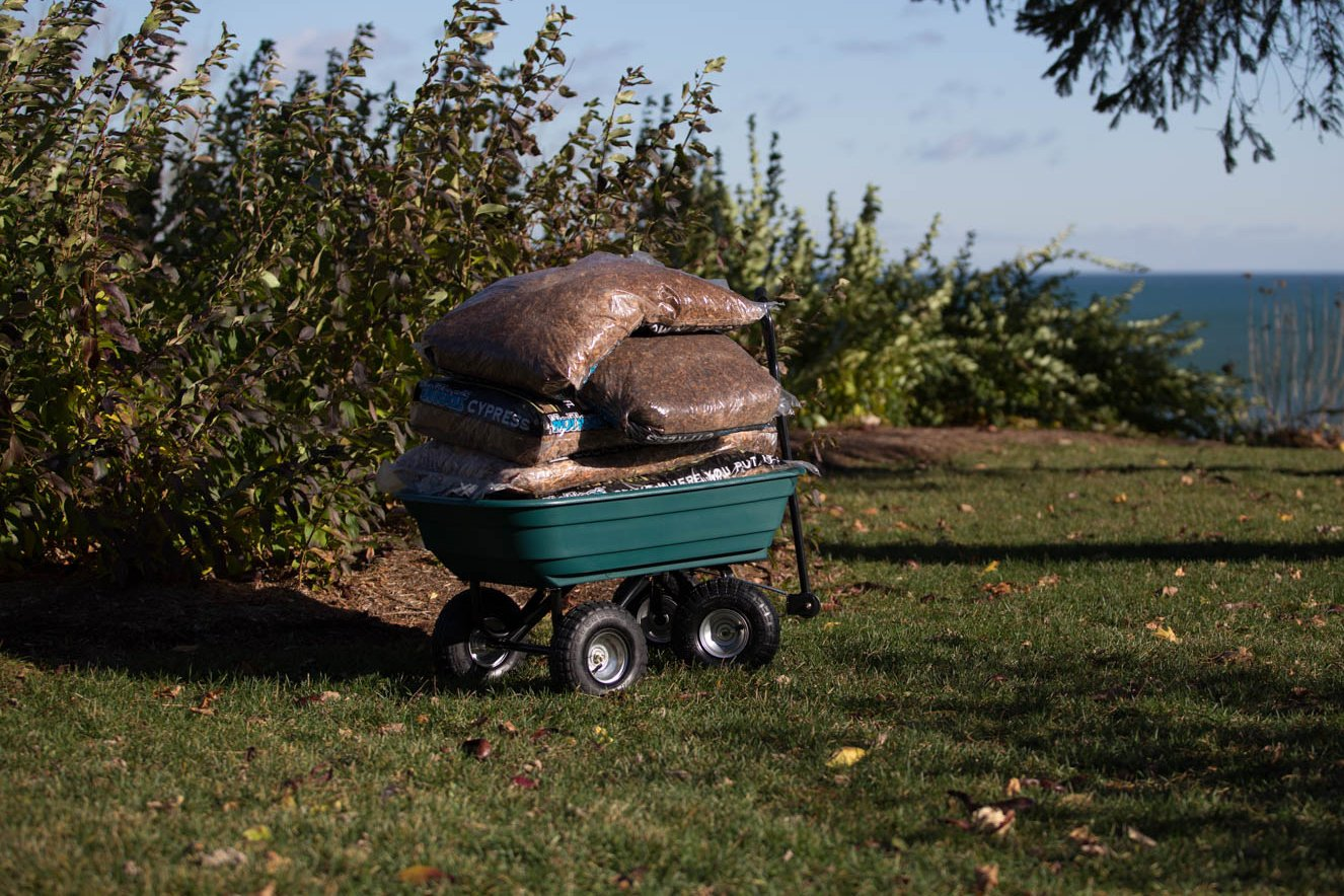Precision LC2000 Capacity Mighty Garden Yard Cart, 600-Pound by Unknown (Image #8)