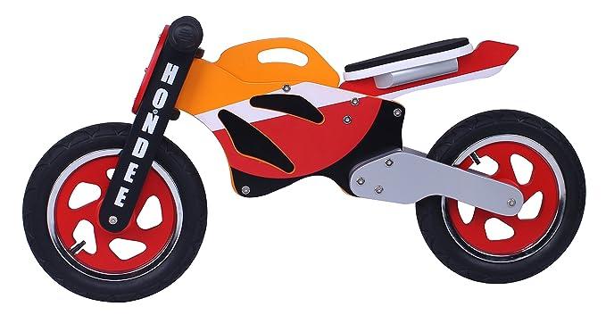 Hondee madera bicicleta de equilibrio de la moto: Amazon.es ...