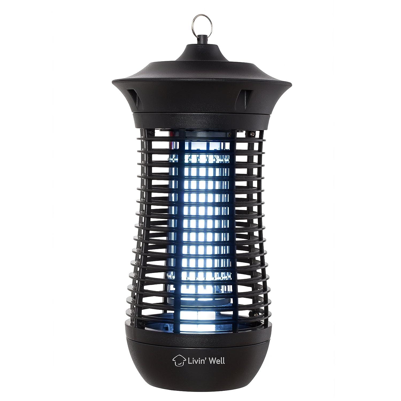 Porch Light Bug Zapper: Bug Zapper For Mosquitos Outdoor Mosquito Killer With UV