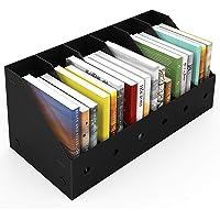 ABClife 6PCS Porta Revistero para Archivos, Organizador de Archivos de Plástico Resistente al Agua, Estante de Revistero…