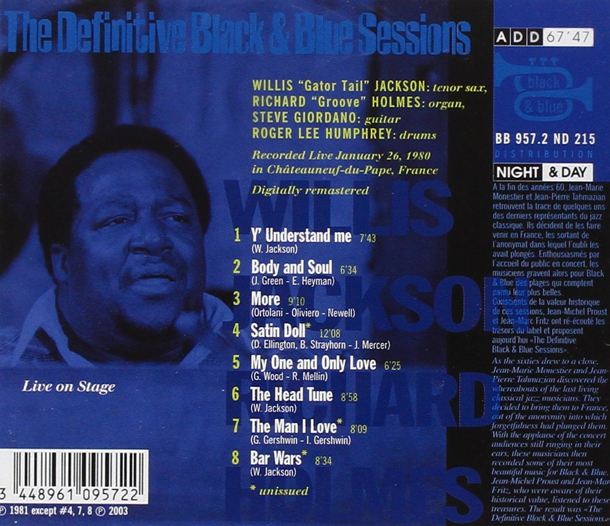 Definitive Black & Blue Sessions by Black & Blue France