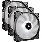 CORSAIR AF120 LED Low Noise Cooling Fan Triple...