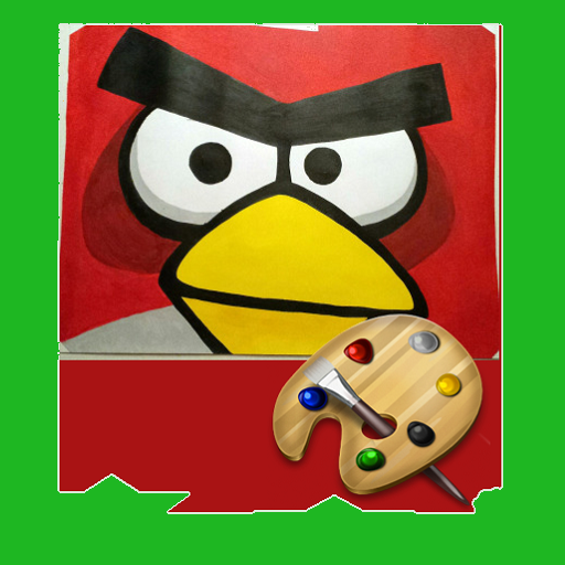 Painting Angry Birds (Angry Birds Free Download compare prices)
