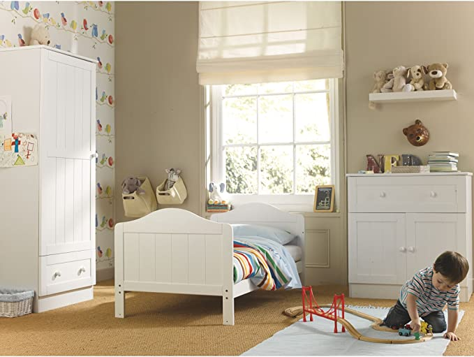 Mothercare Darlington Lit /à Barreaux Blanc