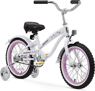 Firmstrong niña de Bella – Bicicleta con ruedines (40,6 cm ...