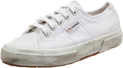 10391b44b9ad Superga 2750 COTUSTONEWASH, Unisex-Erwachsene Sneakers, Weiß (white), 41 EU