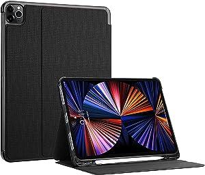 ProCase iPad Pro 12.9 Inch Case 2021 2020 2018, Slim Stand Protective Folio Case Smart Cover for iPad Pro 12.9