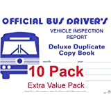 J.J. Keller 902 (25B) Bus Drivers Vehicle Inspection Report 2-Ply w/