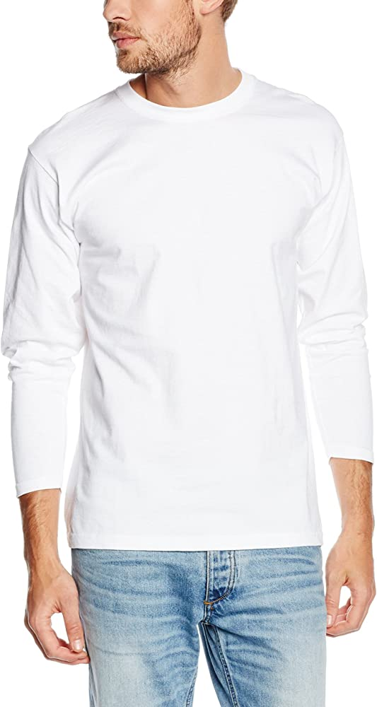 Fruit of the Loom SS013M, Camiseta Para Hombre, Blanco (White), Small: Amazon.es: Ropa y accesorios
