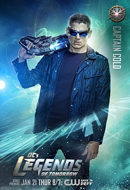 Amazon.com: DC\'s Legends of Tomorrow (2012) - Captain Cold - 13 in x ...