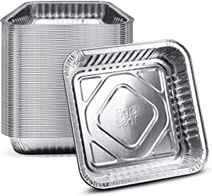 """Fig & Leaf (50 Pack) Square Baking Cake Pans 