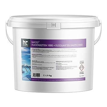 499c6d242f8ee 1 x 5 kg floculant en galets - 100 g - FRAIS DE PORT OFFERT - en ...
