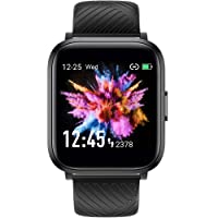 Smart Watch, Virmee VT3 Lite Fitness Tracker Compatible with iPhone Android Phones, with Customizable Watch Faces, Heart Rate Monitor Sleep Tracker Step Counter IP68 Waterproof Fitness Watch Men Women