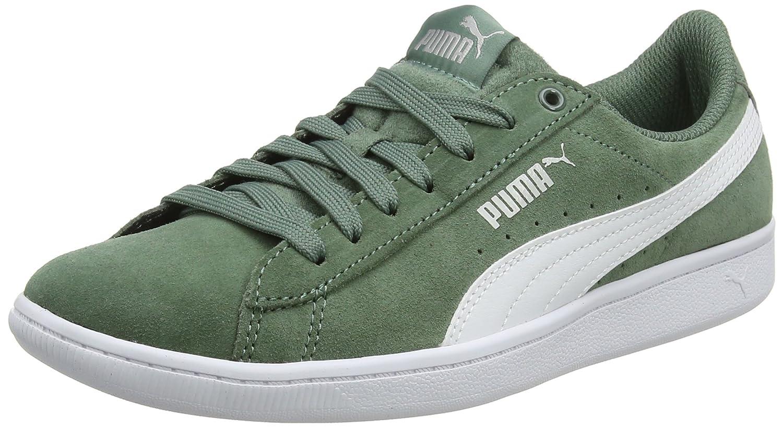 Puma Vikky, Zapatillas para Mujer 40.5 EU|Gris (Laurel Wreath-puma White 27)