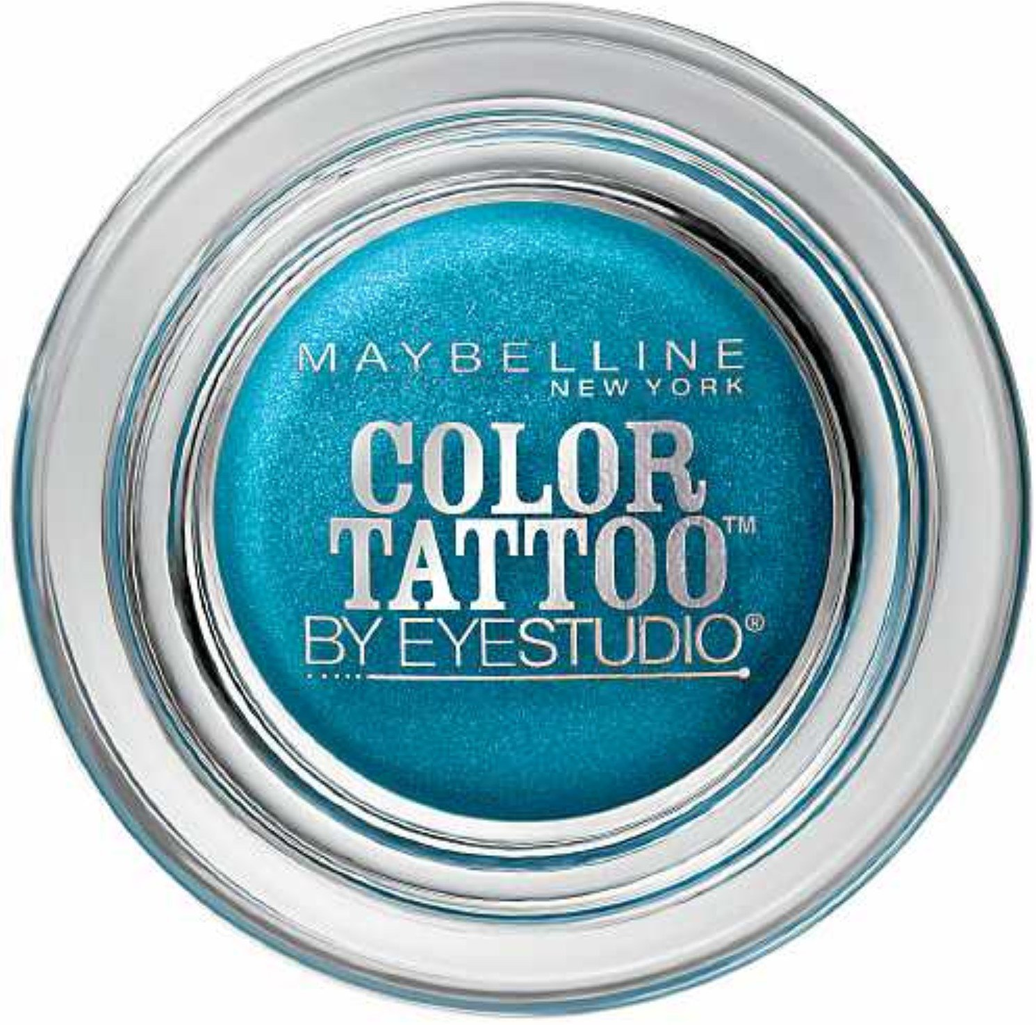 Maybelline Color Tattoo Eyeshadow, Tenacious Teal
